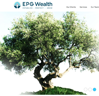 EPR Wealth - web design sydney by Hopping mad designs