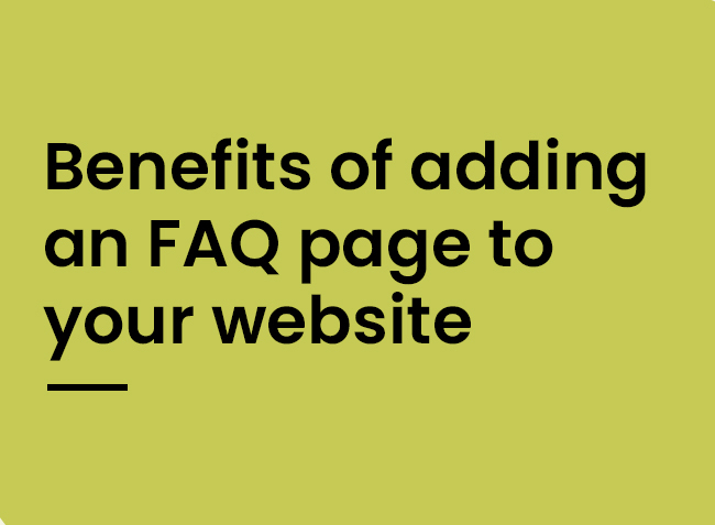 Benefits of adding FAQ's to your website - hopping mad designs