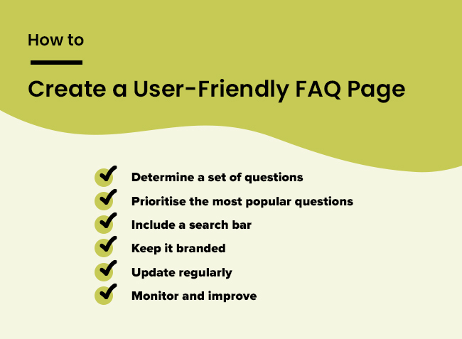 how to create a FAQ page - hopping mad designs