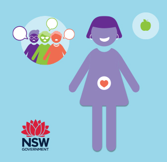 NSW Health Get Healthy in Pregnancy video - explainer video by hopping mad designs